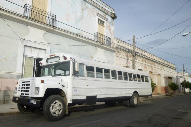 Cienfuegos White Bus