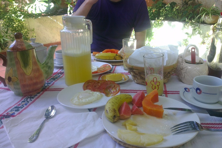 Trinidad Breakfast at the Casa Particular Image