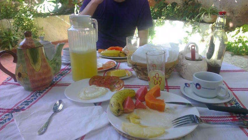 Casa Particular Breakfast Image