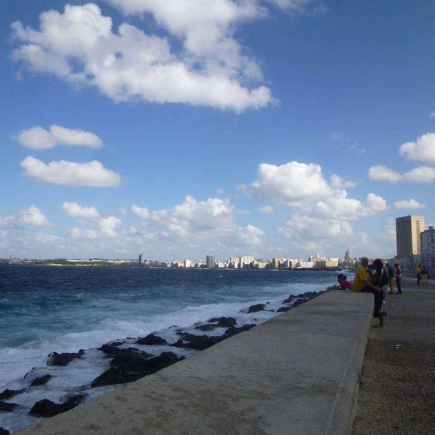 Malecon Havana Image